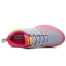 Sneakers Women Female Running Shoes Sport Shoes Woman Breathable Lace-Up chaussure femme Height Increasing