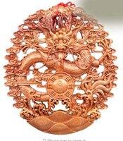 Rame Ottone CINESE artigianato decorazione Asiatica 16