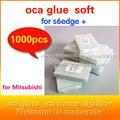 1000 unids s6edge + g9280 OCA adhesiva de doble cara etiqueta engomada del pegamento para g9280 s6edgeplus ''200um grueso para el Mit para formitsu pantalla