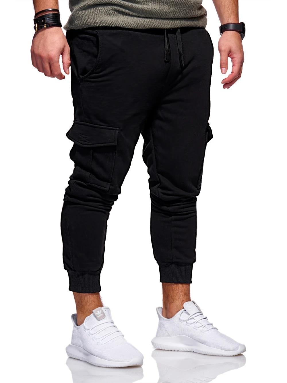Pantalones Para Hombre Nueva Moda Hombre Jogger Pantalones Hombre Fitness Bodybuilding Gyms Pantalones Para Corredores Ropa Otono Pantalones De Chandal Pantalones Deportivos Aliexpress