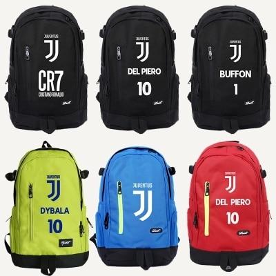 Ol School Bags Messi Cristiano Ronaldo Cr7 Teen Bookbag Backpack Men Back Pack Male Bag Kids Gift Book Bag Boys Juventus Kids 19