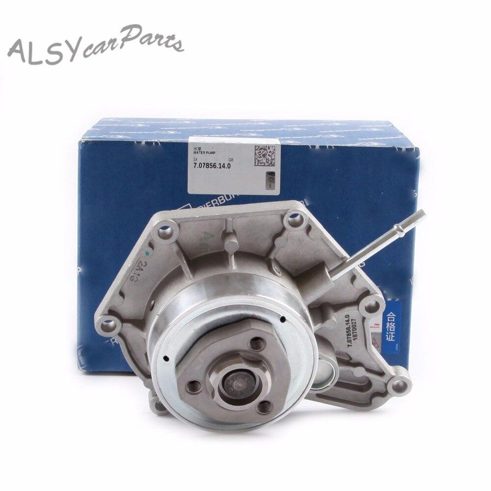 KEOGHS OEM refrigerante del motor bomba de agua 06E 121 018 F y junta para VW Touareg 3,0 T Audi A4 A5 a6 A7 A8 Q5 3.0L V6 06E121016C