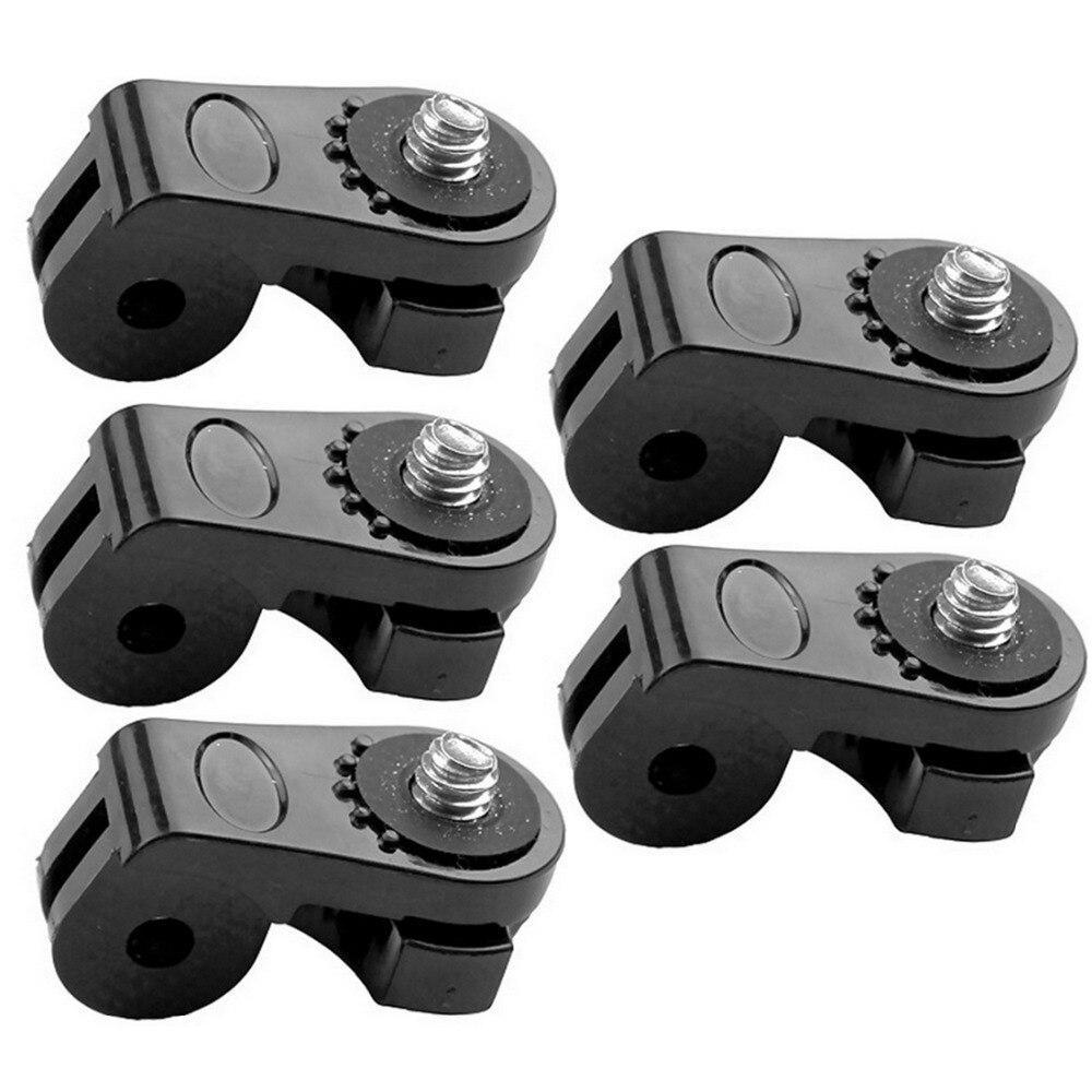5pcs/Set Universal Conversion Adapter Sport Camera Adapter Tripod Convert Mounts for GoPro for SONY for Xiaomi Yi 4K Action комплект креплений на штатив tripod mounts gopro