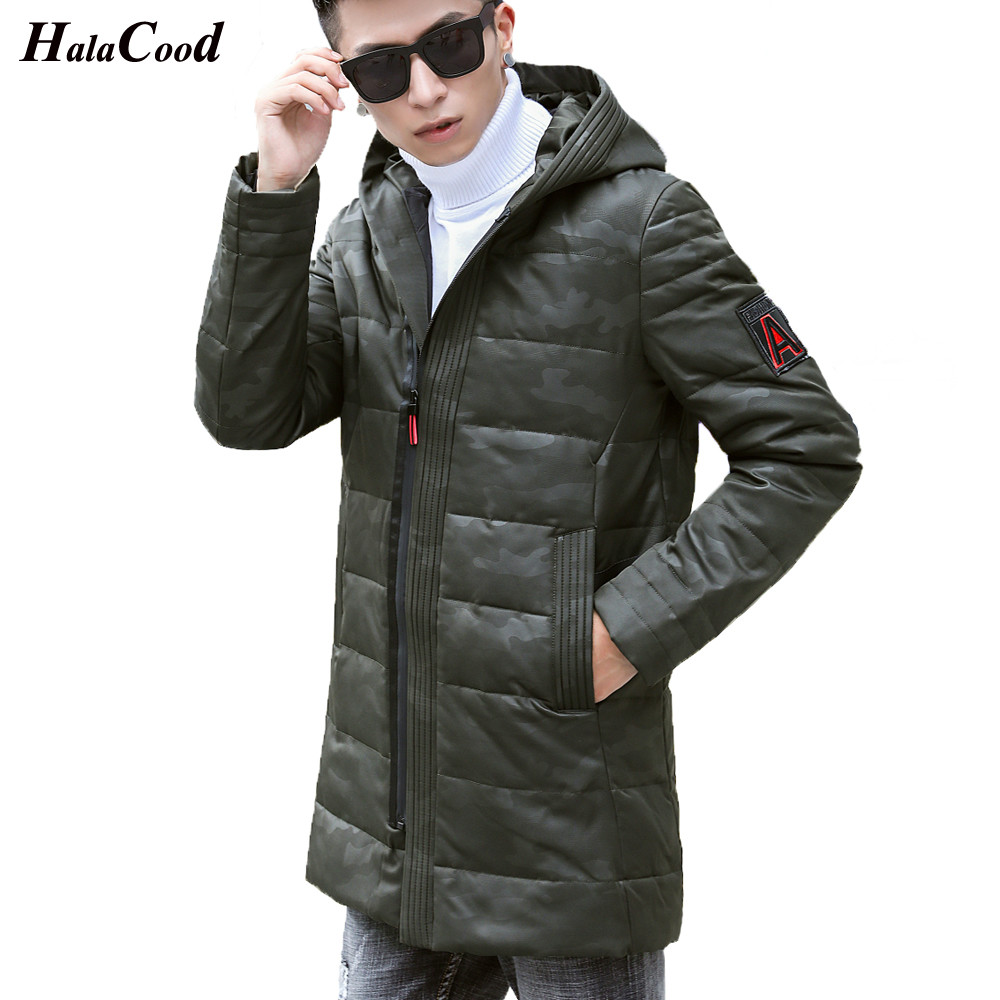 7eddcc49af2 Hot Sell New 2018 Men s Long Down Jacket Plus Size 4XL Thick Warm Casual  Duck Down Clothing Winter Snow Coats Down Winter Parka