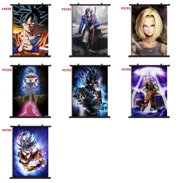 Dragon Ball Anime Manga Wall Poster Scroll F