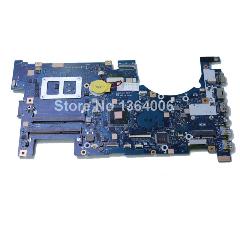 original Laptop Motherboard For ASUS G75VW 2D connector REV 2.1 100% Work Perfect