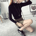 Women Sweater 2016 Winter New Fashion Tight Slim Pullovers High Quality Knitted Sweaters Pull Femme Sweter Mujer SZQ065