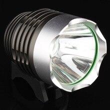 T6 велосипедный светильник головной светильник 1800 люмен 3 режима Водонепроницаемый велосипедный передний светильник светодиодный налобный фонарь с аккумулятором 8,4 в 6400 мАч