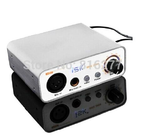 Phantom Power Preamp : original isk mic2000 microphone preamp with 48v phantom power supply for recording microphone ~ Vivirlamusica.com Haus und Dekorationen