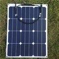 De alta eficiencia panel solar semi flexible de 40 w módulo solar flexible para el barco/yate/uso caravana