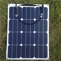 high efficiency semi flexible solar panel  40w bendable solar module for boat/yacht/caravan use