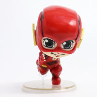 10 CM Kawaii The Flash Man Action Figure Flash Comics Lovers PVC Model Toys Car Home