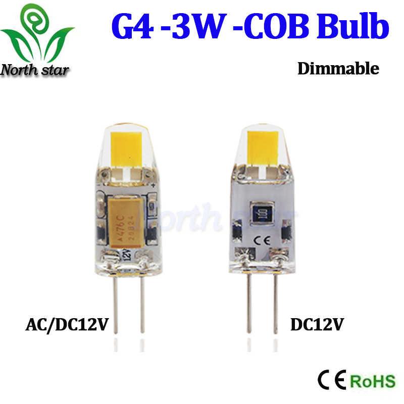 Super luminosité 220 V G4 G9 E14 3 W 6 W 9 W COB Led ampoule lampe 360 degrés Led spot remplacer halogène lustre 360 Angle de faisceau