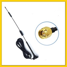 цена на 10PCS   8dbi 4G LTE Antenna SMA Male Right Angle 3M Cable with Magnetic Base for 3g 4G modem router