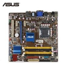 Asus P5Q-EM D'origine Utilisé De Bureau Carte Mère G45 Socket LGA 775 DDR2 16G SATA2 USB2.0 uATX