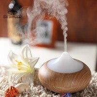 Mini GX Diffuser 7 Colors LED Light Aroma Diffuser Ultrasonic Fogger Mist Maker Humidifier Essential Oil
