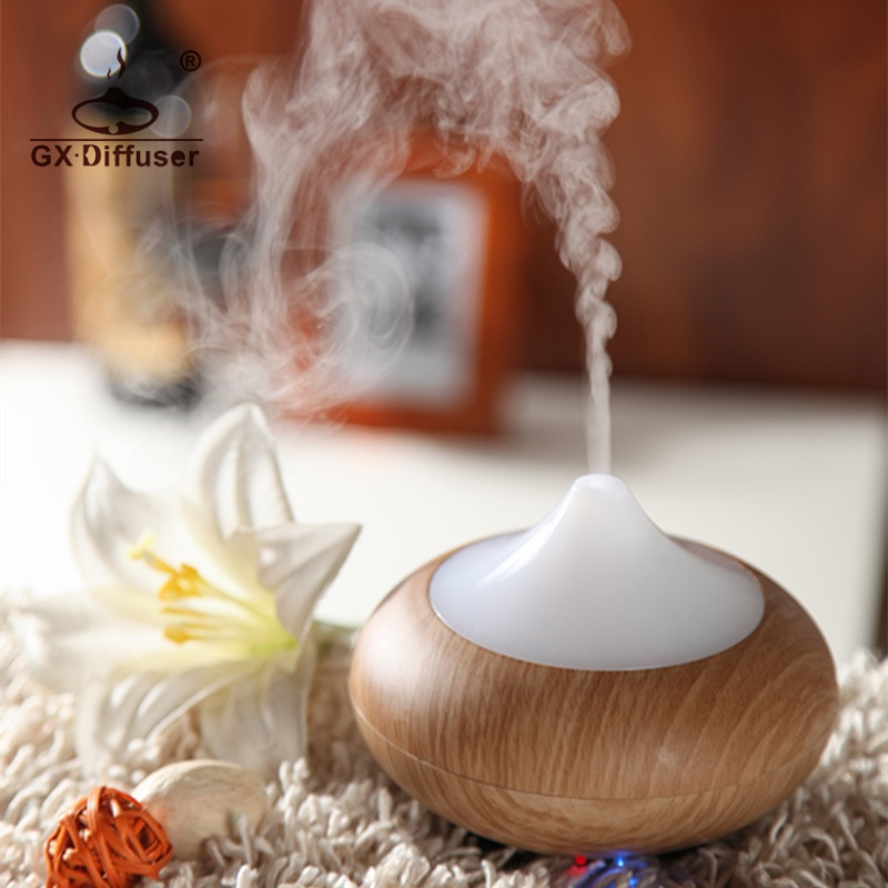 GX.Diffuser Mini 7 Colors LED Light Aroma Diffuser Ultrasonic Fogger Mist Maker Humidifier Essential Oil Diffuser Air Purifier remote control air humidifier essential oil diffuser ultrasonic mist maker fogger ultrasonic aroma diffuser atomizer 7 color led