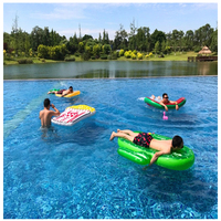 180*145CM Big Large Size Green Inflatable Cactus Floating Adult Pool Toys 2