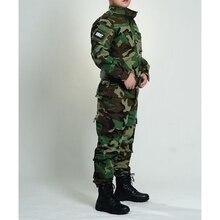 Новая армейская БДУ Военная Униформа камуфляж тактические рубашки и тактические брюки CS поле Армейский Камуфляж охотничий костюм USMC CP ACU ATACS