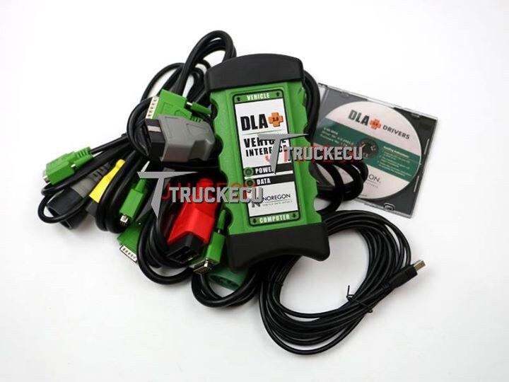 2019 version JPRO DLA + outil de Diagnostic de flotte commerciale de Scanner de camion lourd Diesel d'interface de véhicule Noregon JPRO