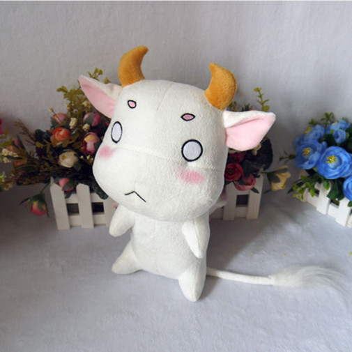 Yuki Yuna adalah Hero Cow-like Ushi-oni 32cm Toy Cosplay Stuffed & Plush Cartoon Doll