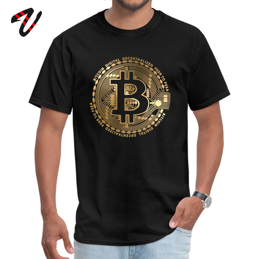 Personalizado Top T-shirt Para Homem Mais Novo O Pescoço Bitcoin Nerd Tshirt Camisa Dos Homens T Trunfo Lucifer Tee-Shirt Livre grátis Camisola