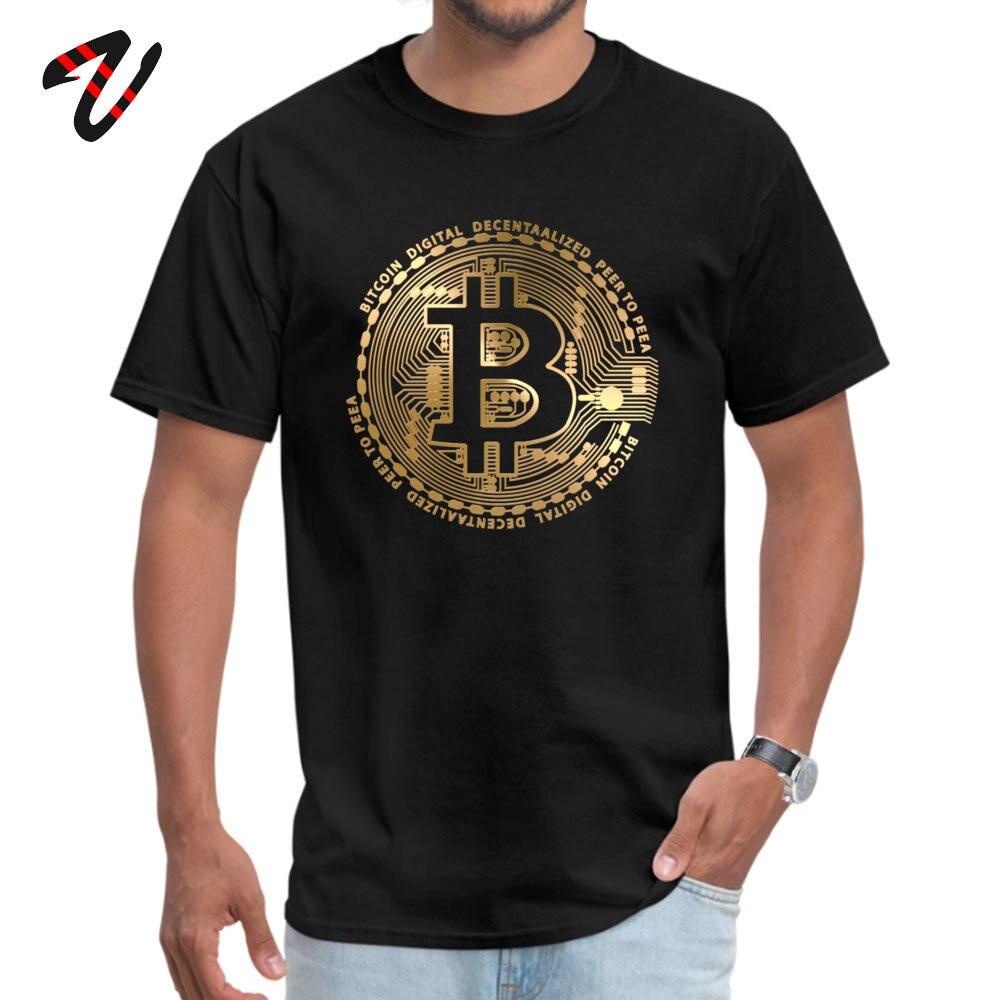 T-shirt personnalisé pour homme le plus récent col rond Bitcoin t-shirt Geek Lucifer hommes t-shirt Trump t-shirt livraison gratuite chandail