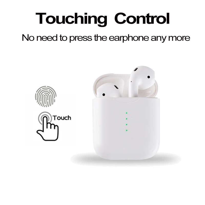 2331ac53b4b ... Auriculares inalámbricos i10 TWS Bluetooth 5,0 con soporte para Control  táctil, carga inalámbrica ...