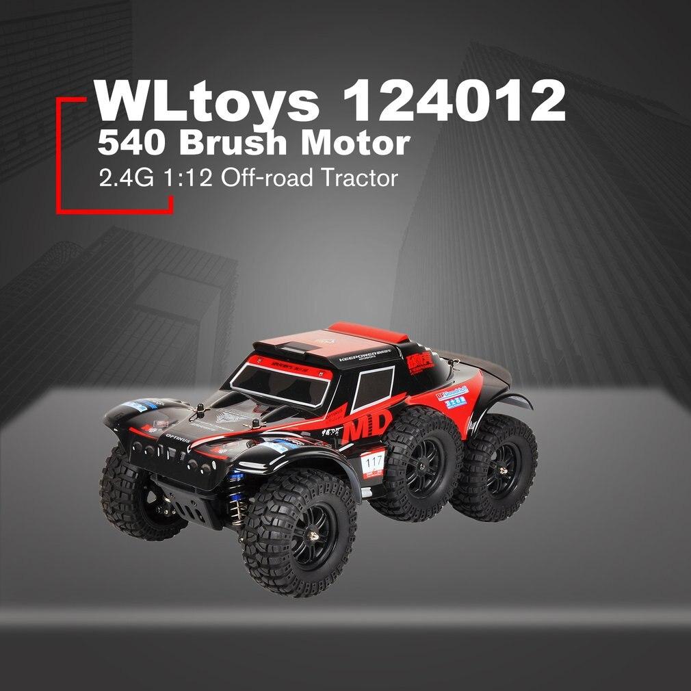 WLtoys 124012 RC grimpeur 540 brosse moteur 2.4G 1:12 électrique tout-terrain quatre roues tracteur automatique véhicule RC voiture modèle de course