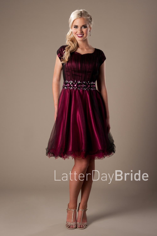 Popular Modest Short Prom Dresses-Buy Cheap Modest Short Prom ...