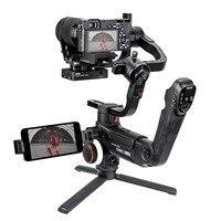 DHL Zhiyun Crane 3 LAB 3 axis Handheld Gimbal DSLR Camera stabilizer for Sony A7M3 A7R3 Canon 6D 5D Panasonic GH4 GH5 Nikon D850