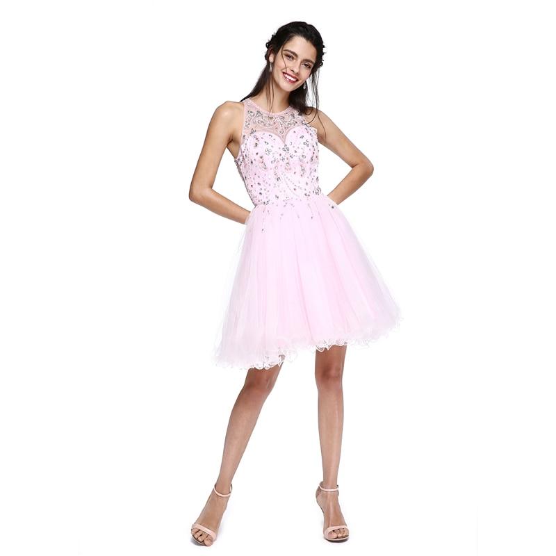 TS Couture Ball Gown Fit & Flare Illusion Neckline Short / Mini ...