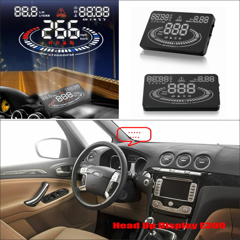 все цены на For Ford Galaxy MK3 2006~2014 - Safe Driving Screen Special Car HUD Head Up Display Projector Refkecting Windshield