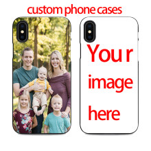 diy custom phone case design your own for iPhone 11 pro max X XR 6 7 8 plus 5 5s 6s xs create customize case with photos cover(China)