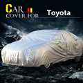 Car Cover Sun Anti-UV Rain Snow Dust Scratch Resistant Cover Waterproof For Toyota RAV4 Vios Yaris Prado Echo Wish Zelas Celica