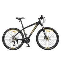 Горный велосипед жесткая рама водонепроницаемый подшипник 27 скорость двойной дисковый тормоз 27,5 дюймов