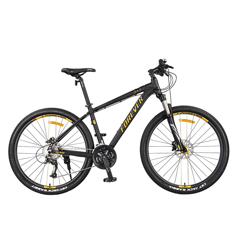 Mountain Bike Rigid Frame Water Proof Bearing 27 Speed Double Disc Brake 27.5 Inches