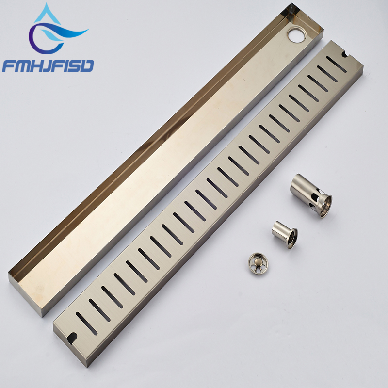 Wholesale And Retail Bathroom Modern Brushed Nickel Square Floor Drainer Kitchen Room Shower Grate Waste Floor Filler hot sale wholesale and retail promotion brushed nickel bathroom shower drain grate waste floor drain