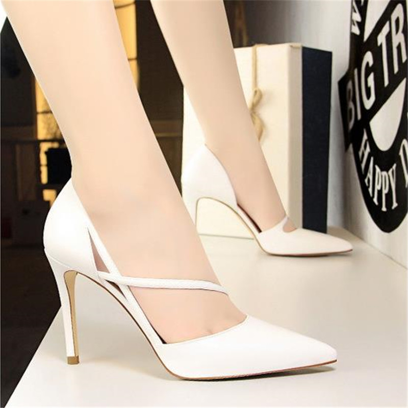 Hauts Bout Chaussures Office Grey White Talons Ressort Pour Blue D f76Ygby