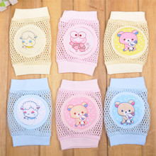 Cartoon Baby Knee Pads Anti Slip Mesh Cushion Crawling Protector Cotton Kids Kneecaps Children For Grils Boys Leg Warmers 0-3Y
