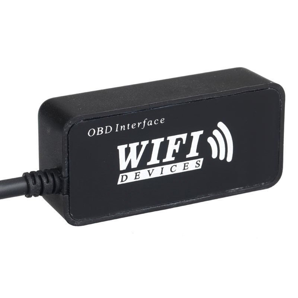 WiFi OBDII OBD2 Wireless Car Diagnostic Interface Scanner for iPhone