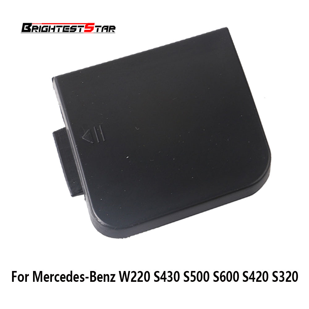 Front Bumper Tow Bar Cover Cap Flap Trailer Hitch Mount For Mercedes-<font><b>Benz</b></font> <font><b>W220</b></font> S430 <font><b>S500</b></font> S600 S420 S320 2208850323 220 885 03 23 image