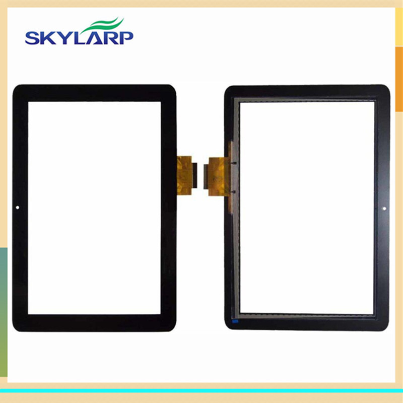 For 10.1 for Acer Iconia Tab A200 Tablet PC New Front Outter Touch Screen Panel Digitizer Sensor Glass Repair Replacement Parts 10 1inch tablet pc for acer iconia tab 10 a3 a40 touch screen lcd display digitizer sensor replacement parts