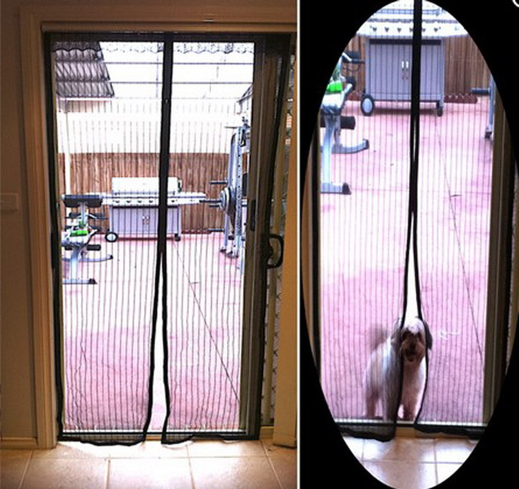 Magnetic Magic Mesh Insect Screen Door In Door U0026 Window Screens From Home  Improvement On Aliexpress.com | Alibaba Group
