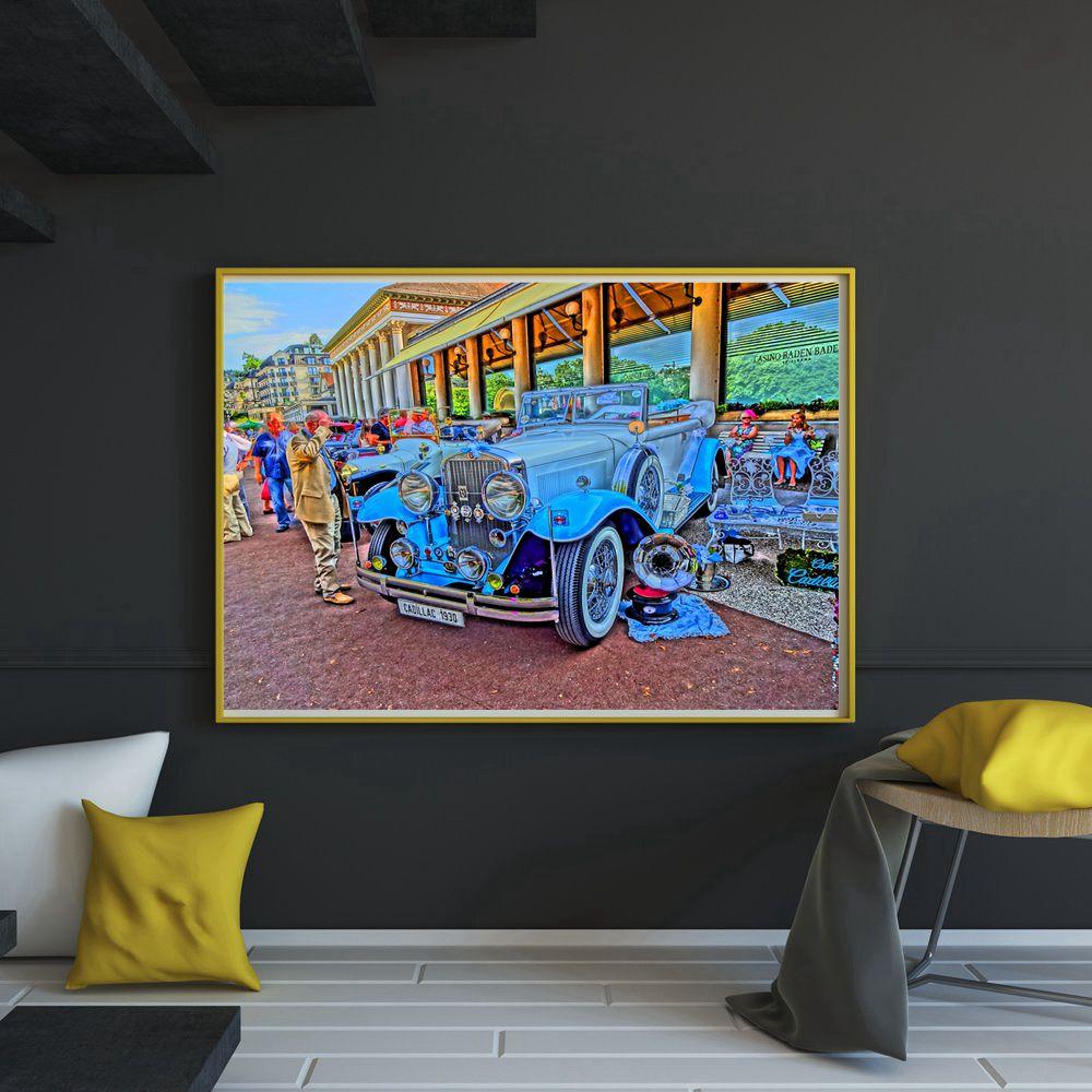 stunning vintage modern living room honeysuckle life   Beautiful Office Decor Vintage Cars Color Painting ...