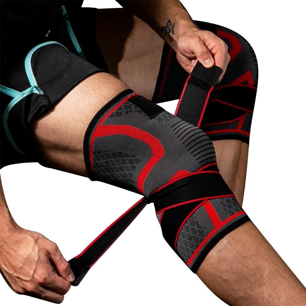 e6e1aac9fb 2019 SkangDuke New Knee Pads Band Removable Pressurized Braces Knee ...