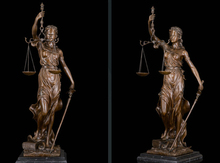 Art Deco Sculpture Goddess Of Justice Angel Woman With Snake Bronze Statue R0713 цены онлайн