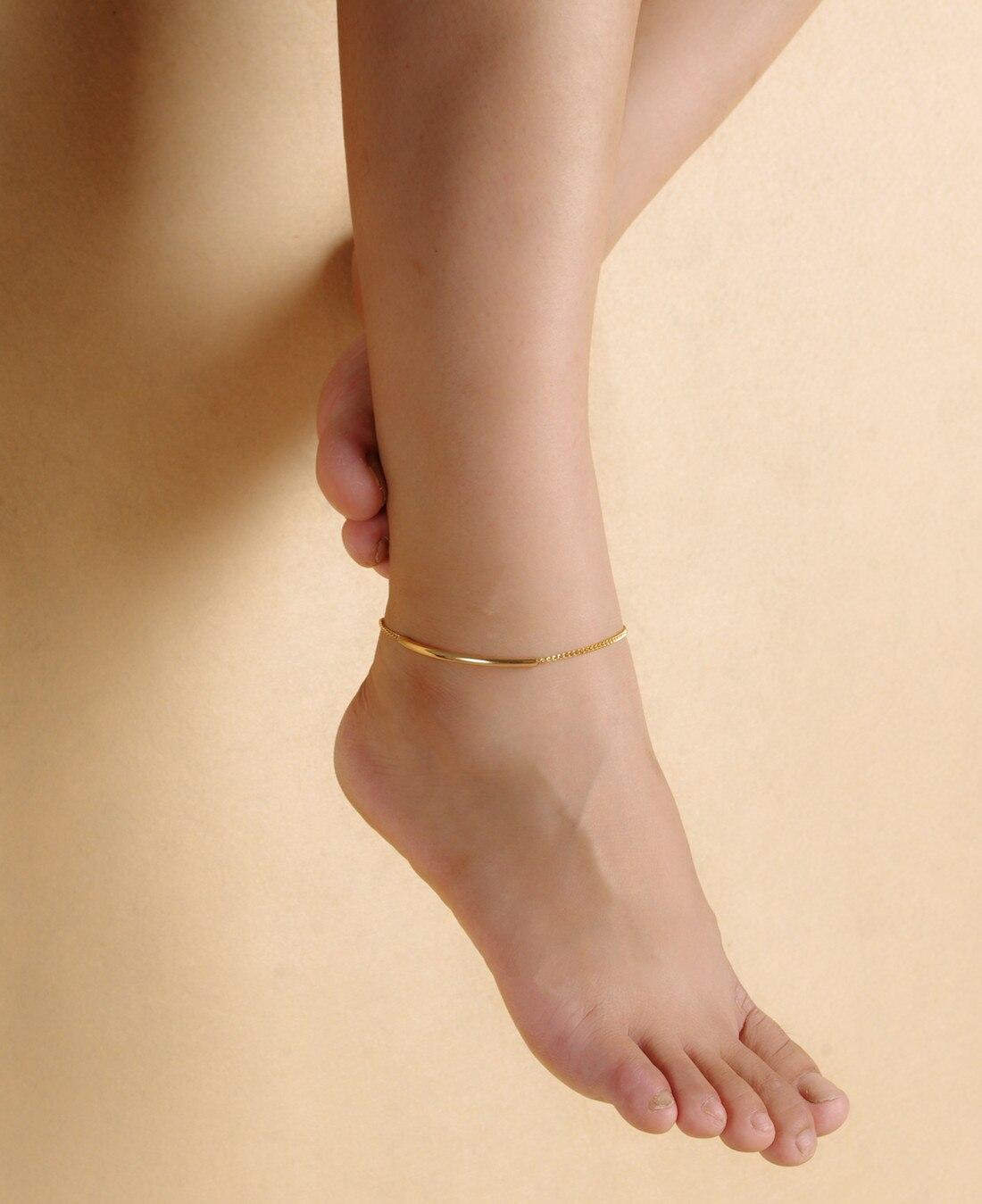 Minimalist Summer Beach Anklet