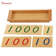 Educational Toys Maths Introduction to Decimal Symbol With Box Kids Children Students Preschool Montessori Material Wood MA131-3