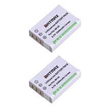 2pcs Battery NP-95 NP 95 Rechargeable Camera Battery For FUJIFILM FinePix F30 F31fd Real 3D W1 X-S1 X100 X100s cheap Standard Battery Batmax Rechargeable Li-ion battery 2200mAh 3 7V